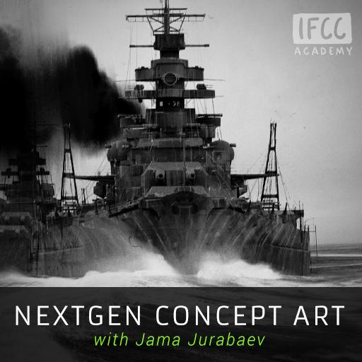 NextGen Concept Art with Jama Jurabaev IFCC Academy